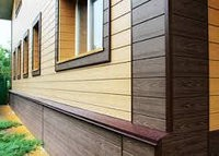Фасадные панели из ДПК (Сайдинг)