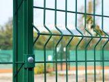 Забор. Евроограждения. Заборы 3Д. Еврозабор. Зеленый RAL6005.
