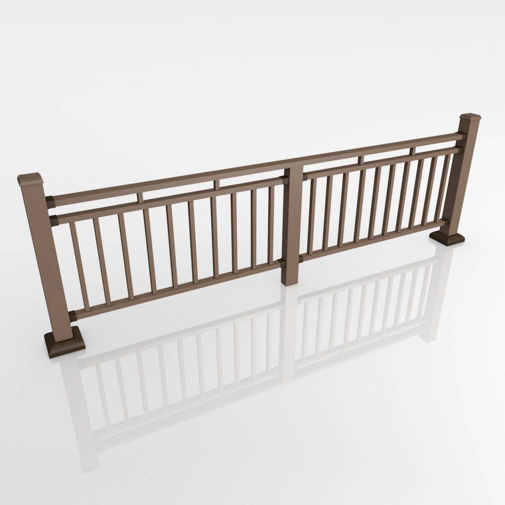 Ограждения и перила из ДПК для терассы, балкона, лоджии, крыльца CM Railing