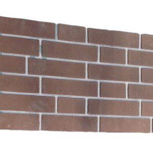 Гибкий кирпич для декоративной облицовки, фасада, цоколя «Brickquick»