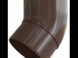 Колено трубы 45° ПВХ водосток Элит Альта-Профиль