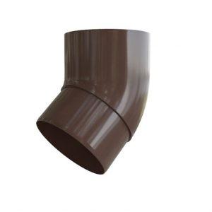 Колено водосточной трубы 45° из ПВХ водосток Стандарт Альта-Профиль