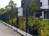 Евроограждения. Забор 3Д. Еврозабор. Цвет серый RAL7016