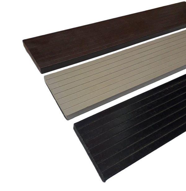 Торцевая доска для террасной доски из ДПК, финишная рейка 4000*70*10мм