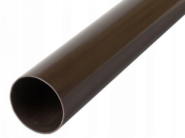 Труба водосточная из ПВХ ⌀74мм водосток Стандарт Альта-Профиль
