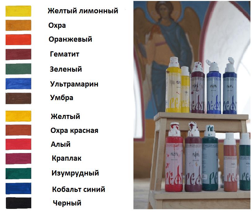 Силикатная краска ТМ «РЕФТЬ»