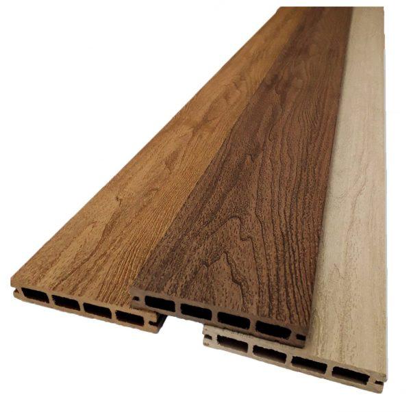 Террасная доска из ДПК CM Decking Bark 3000х140х25мм