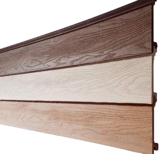 Купить фасадные панели из ДПК CM Cladding, Bark, Fusion, Vintage Швеция