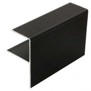Алюминиевый F-профиль 4000x55x30 мм