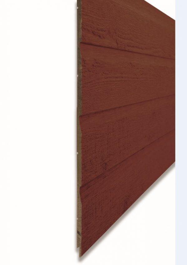 Фибродеревянный сайдинг CanExel цвет Country Red