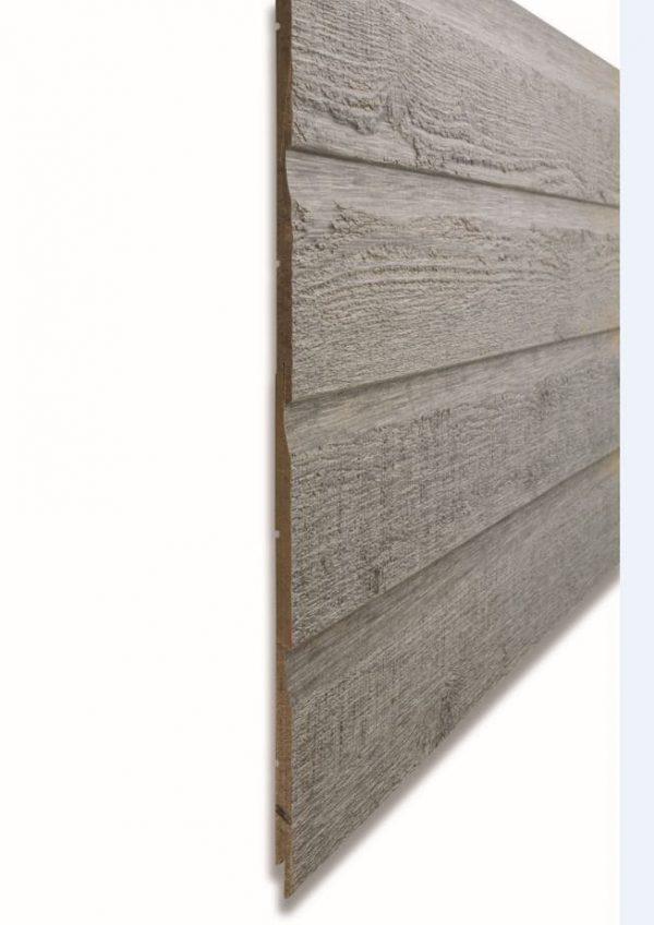 Фибро деревянный сайдинг CanExel цвет Timberwolf 3