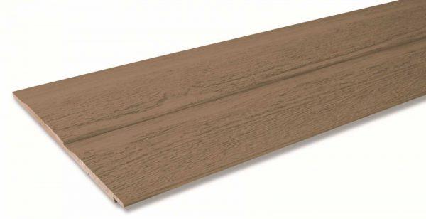 Фибро деревянный сайдинг CanExel цвет Sandalwood 3