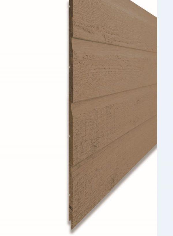Фибро деревянный сайдинг CanExel цвет Sandalwood